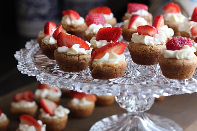 Desery z truskawkami