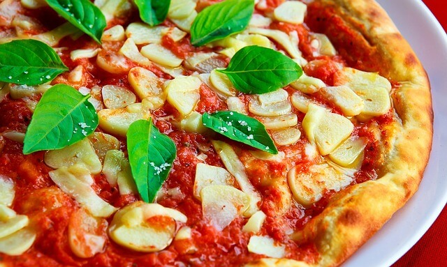 Pizza - męskie danie