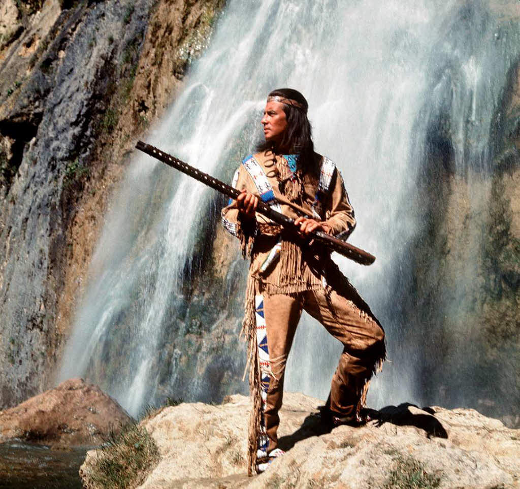 Indianin Winnetou
