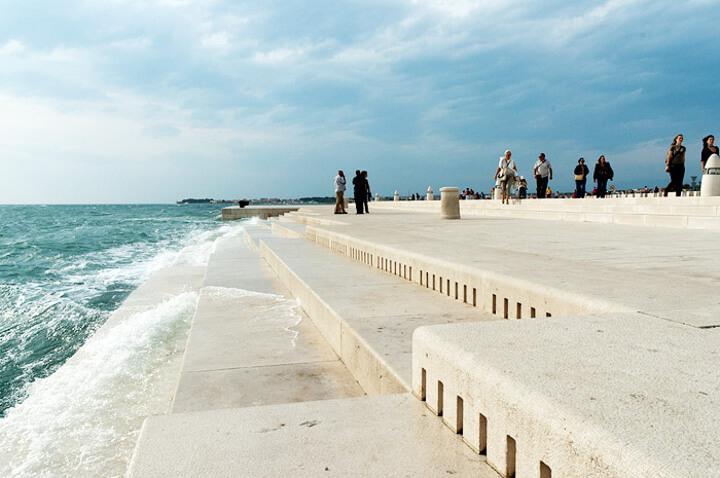 morskei organy Zadaru