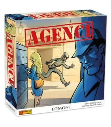 Gra planszowa agencji