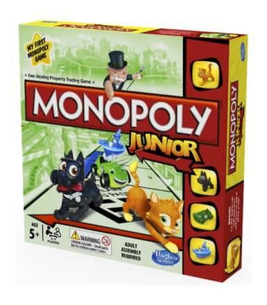 Gra planszowa monopoly junior