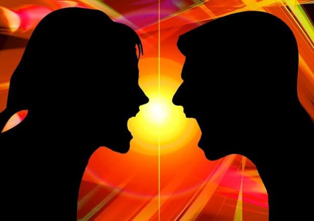 para kłóci się
