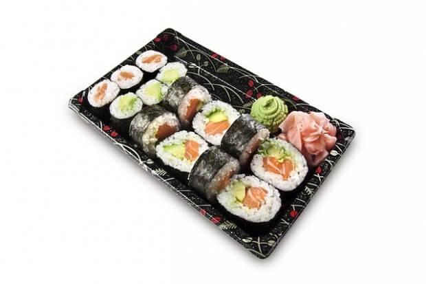 gotowe sushi