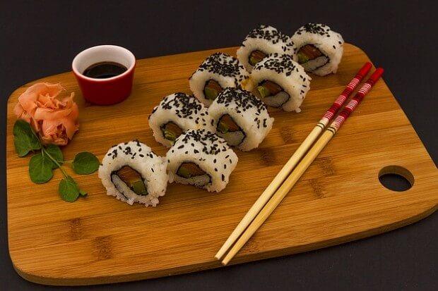 sushi na desce