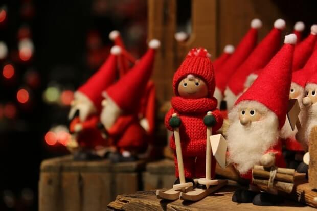 Figurki świętego Mikołaja