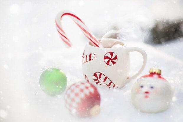 Świąteczna gorąca czekolada