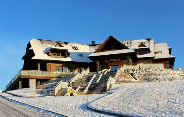 Hotel Złoty Groń w Istebnej