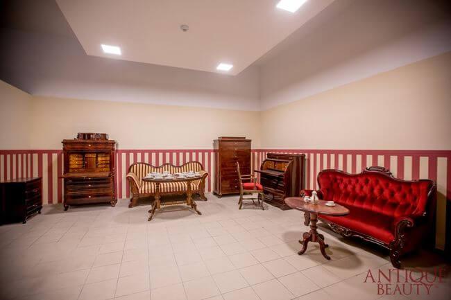 Salon z antykami antique beauty