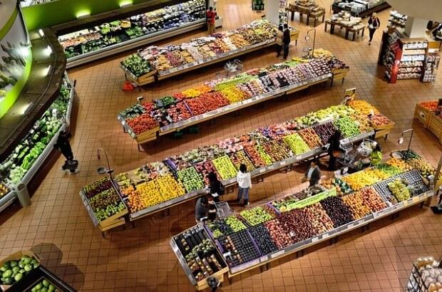 zakupyw w supermarkecie