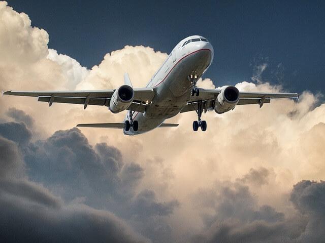 Widok na samolot