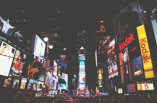 Times Square nocą