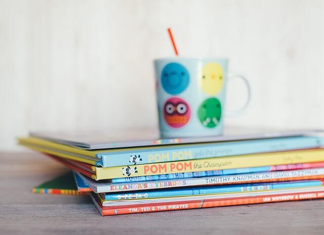 Książki i ćwiczenia dla dzieci