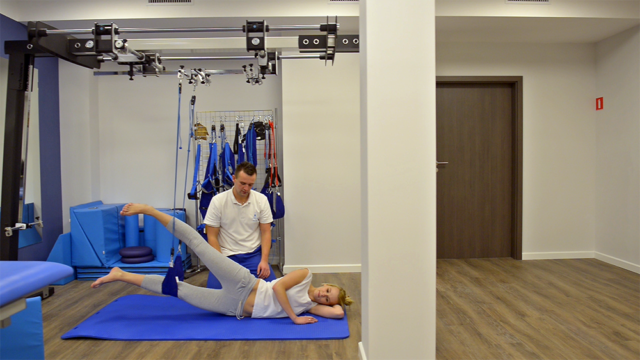Ćwiczenia z fizjoterapeutą
