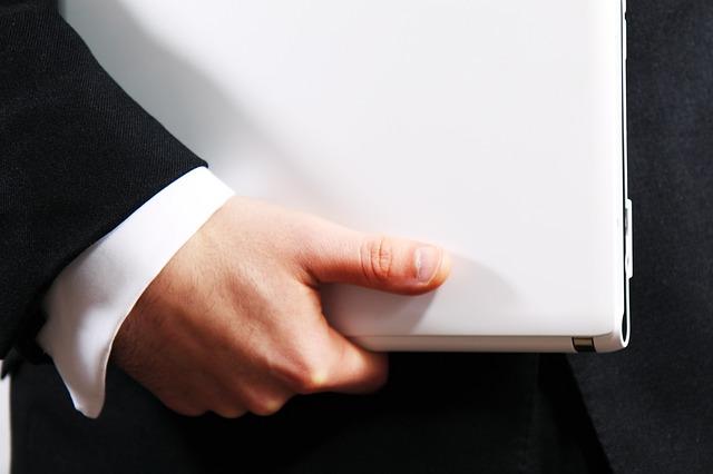 Komputer w ręce