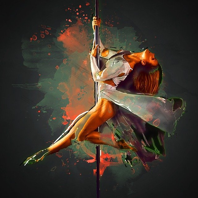 taniec na drążku